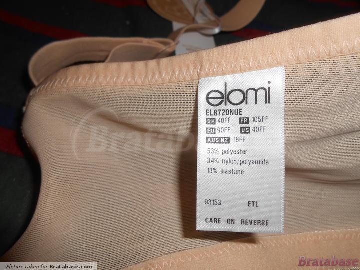 | 40FF - Elomi » Bijou Banded Moulded Bra (8720)
